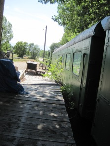 Retired Air Force Train Cars
