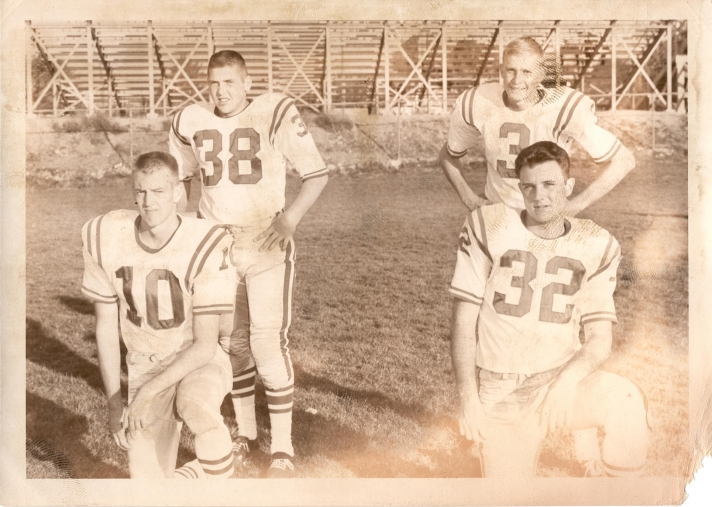 Top Row: Roger Olsen, Bob Paulson Bottom: Bob Brown, Bob Tinnin